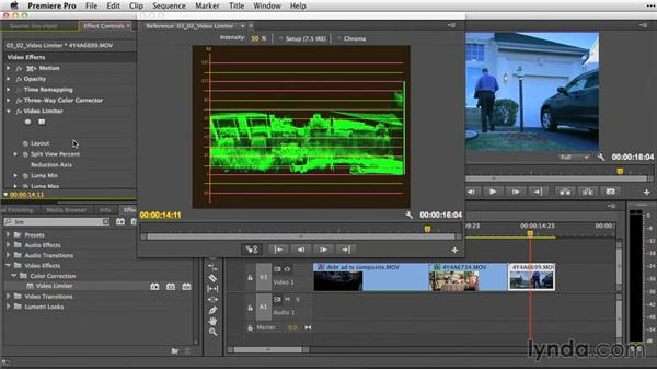 Legalization with the Video Limiter effect: Premiere Pro Guru: Video Finishing Techniques