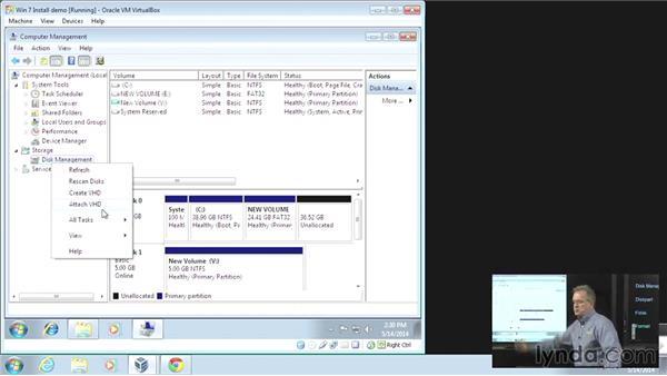 Disk management: CompTIA A+ Exam Prep (220-802)