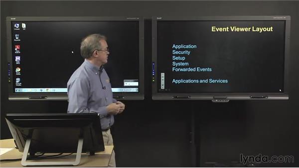 Event viewer: CompTIA A+ Exam Prep (220-802)