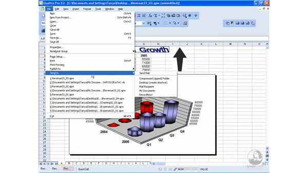 Creating a desktop shortcut: WordPerfect Office X3 Essential Training