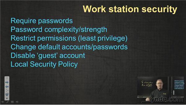 Security best practices: CompTIA A+ Exam Prep (220-802)