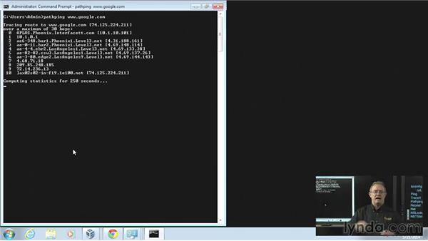 Basic network commands: CompTIA A+ Exam Prep (220-802)