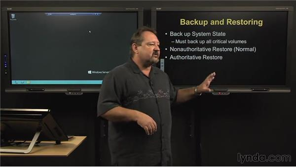 Maintaining the Active Directory (AD) database: Windows Server 2012 Active Directory: Management and Implementation