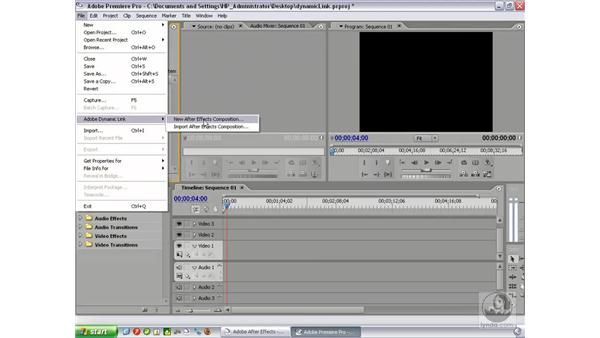 Using Dynamic Link with Premiere Pro 2: After Effects 7 New Features