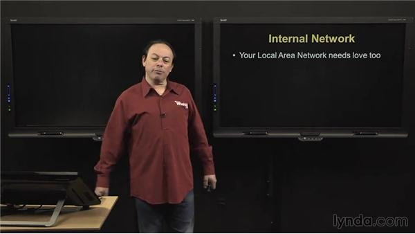 Internal network: IT Security Fundamentals