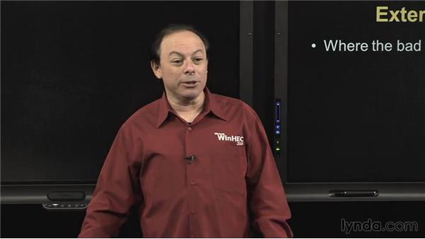 External network: IT Security Fundamentals