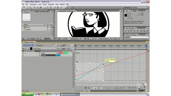 Using the graph editor: After Effects 7 New Features