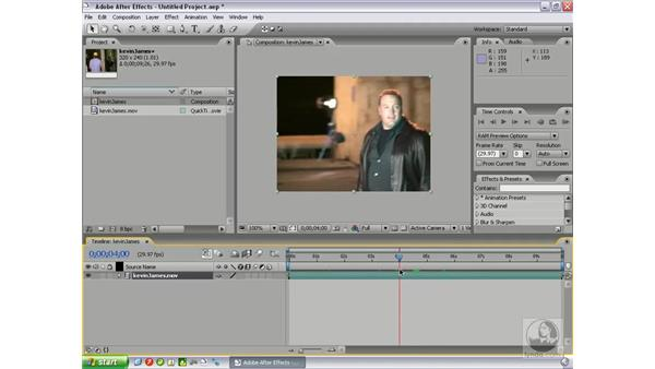 Freeze frame option: After Effects 7 New Features