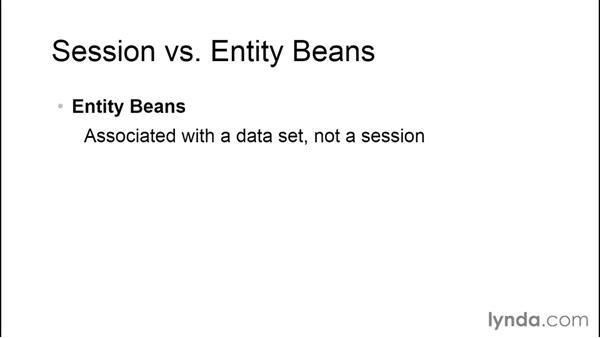 Choosing session vs. entity object types: Java EE Essentials: Enterprise JavaBeans