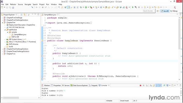Creating asynchronous methods: Java EE Essentials: Enterprise JavaBeans