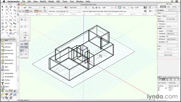 Welcome: Up and Running with Vectorworks