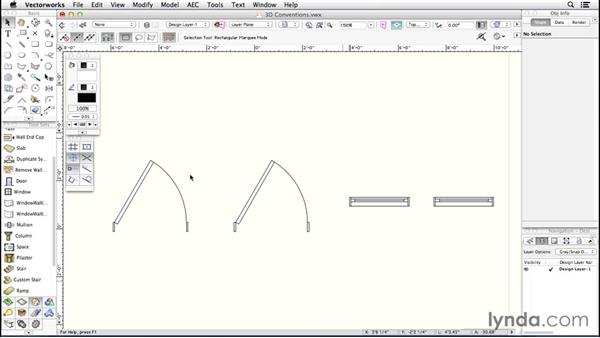 3D concepts: Up and Running with Vectorworks