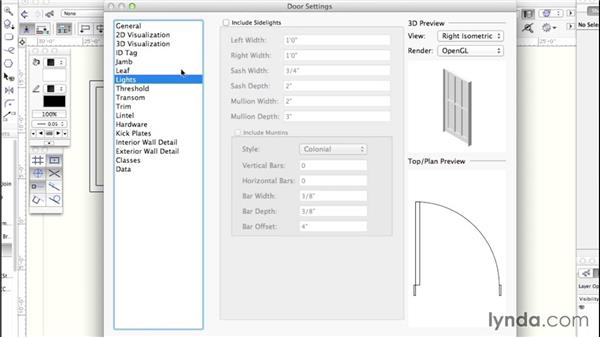 Advanced object customizing: Up and Running with Vectorworks