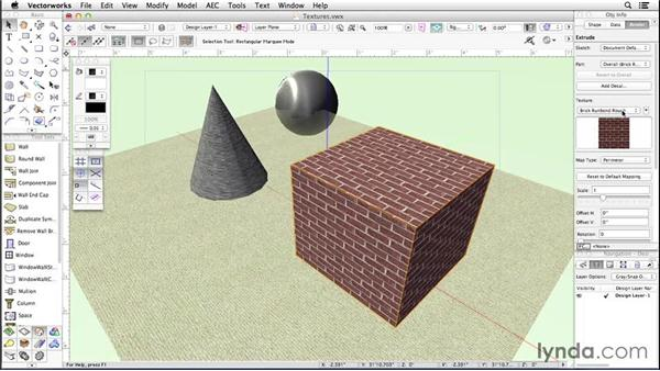 Textures: Up and Running with Vectorworks