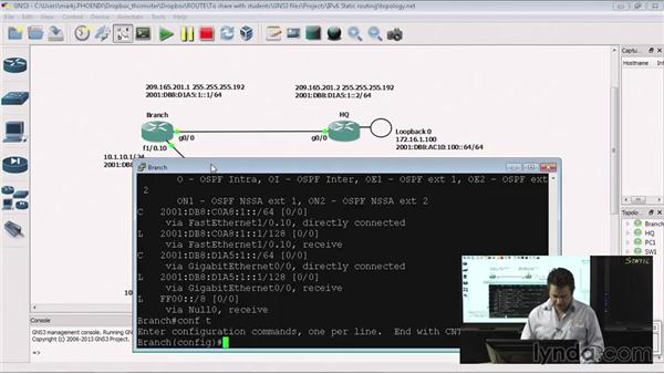 Static routing in IPv6: Getting to Know IPv6