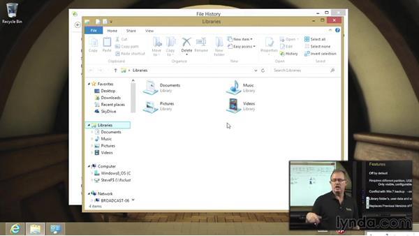 File History: Managing Windows 8