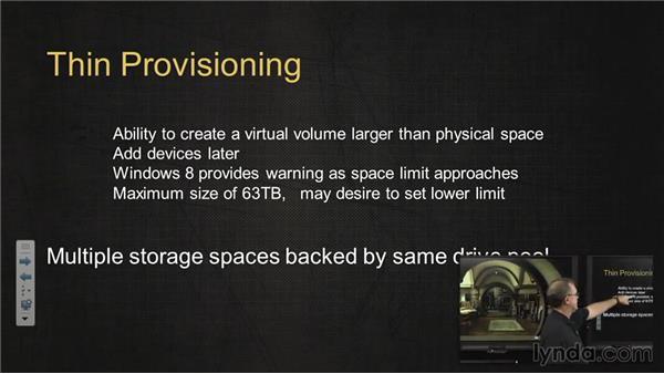 Storage Spaces: Managing Windows 8