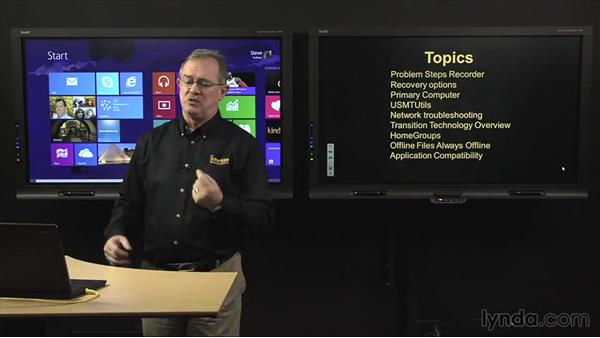 Welcome: Troubleshooting Windows 8: Part One