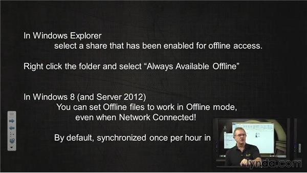 Offline files always offline: Troubleshooting Windows 8: Part One