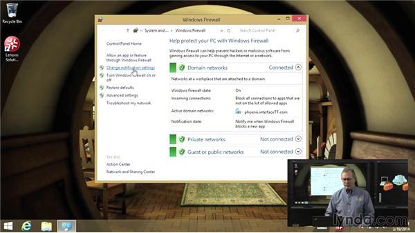 Windows Firewall: Troubleshooting Windows 8: Part Two