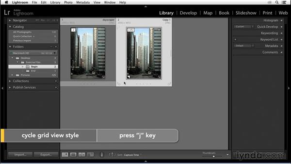 Creating a virtual copy: Enhancing an Urban Landscape Photo with Lightroom and Photoshop