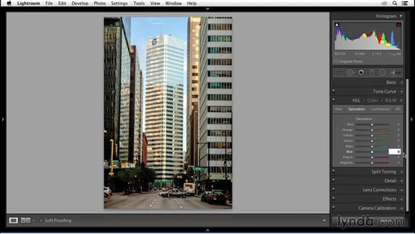 Controlling the color environment: Enhancing an Urban Landscape Photo with Lightroom and Photoshop