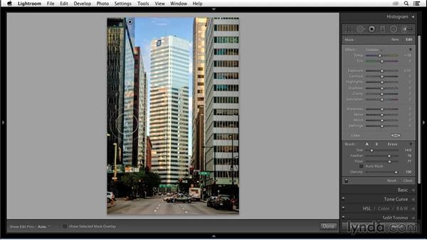 Pinpointing local color: Enhancing an Urban Landscape Photo with Lightroom and Photoshop