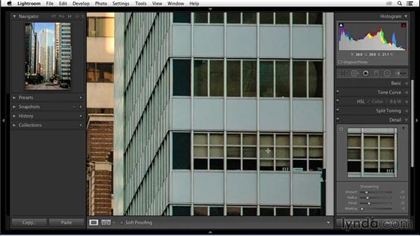 Reducing digital noise: Enhancing an Urban Landscape Photo with Lightroom and Photoshop