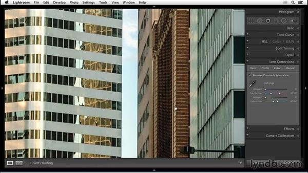 Relying on lens profiles to fix distortion: Enhancing an Urban Landscape Photo with Lightroom and Photoshop