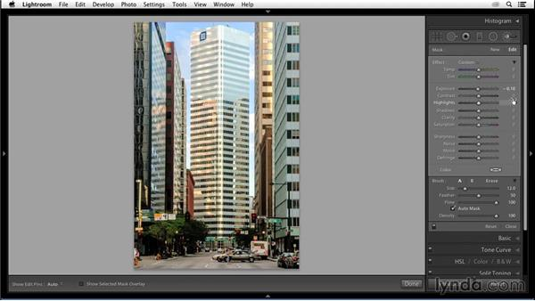 Dodging and burning: Enhancing an Urban Landscape Photo with Lightroom and Photoshop