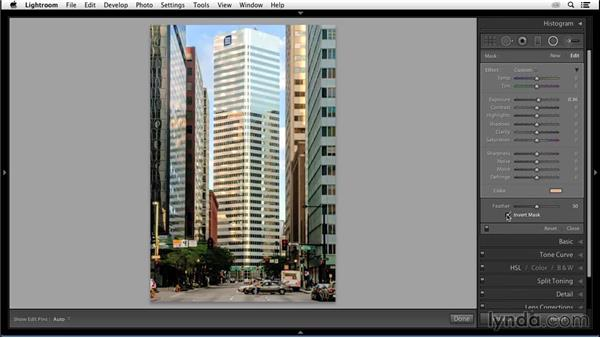 Painting with light: Enhancing an Urban Landscape Photo with Lightroom and Photoshop