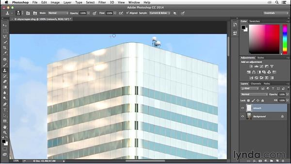 Moving from Lightroom to Photoshop for retouching: Enhancing an Urban Landscape Photo with Lightroom and Photoshop