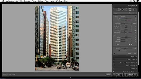 Vignetting as a focal tool: Enhancing an Urban Landscape Photo with Lightroom and Photoshop