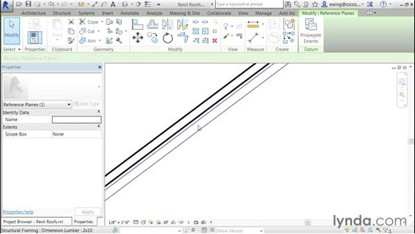 Detailing rake ends: Building Roofs with Revit