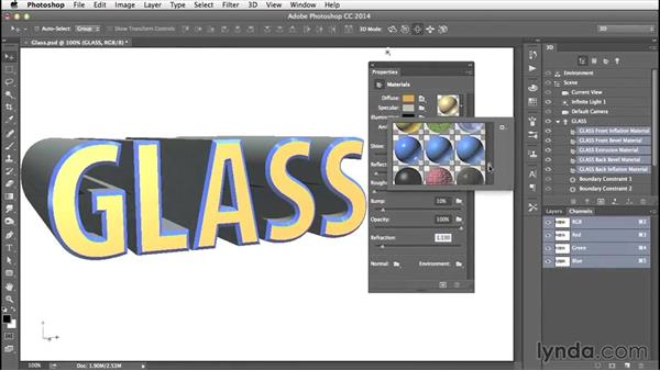 Welcome: Creating 3D Type in Photoshop
