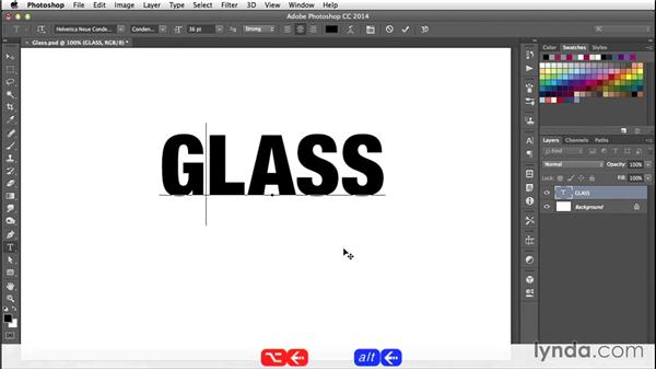 Turning type into 3D: Creating 3D Type in Photoshop