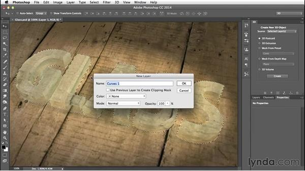 Finishing touches: Creating 3D Type in Photoshop
