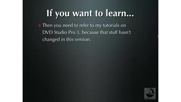 Welcome: DVD Studio Pro 4 + Compressor 2 New Features