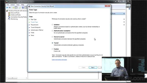 Managing Windows Firewall with Advanced Security: Windows 7 Networking and Security