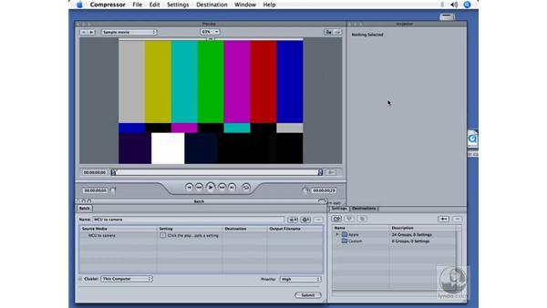 Compressor 2: DVD Studio Pro 4 + Compressor 2 New Features