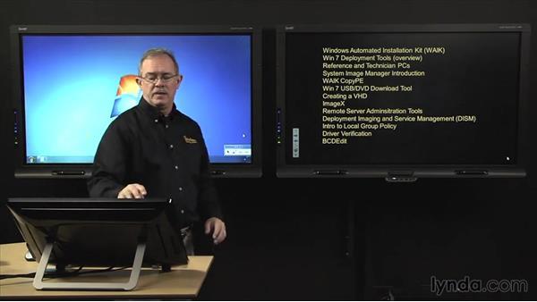 Welcome: Windows 7 Enterprise Deployment