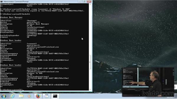 BCDEdit: Windows 7 Enterprise Deployment