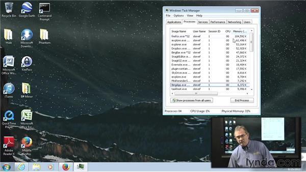 Task Manager: Managing Windows 7