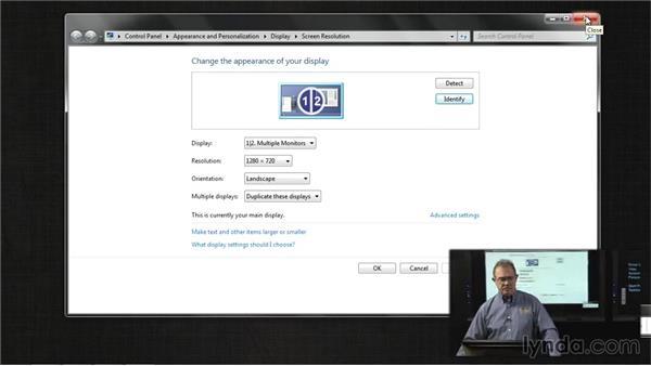 Troubleshooting display settings: Troubleshooting Windows 7