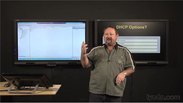 DHCP: Configuring scopes: Windows Server 2012 Active Directory: Network Services