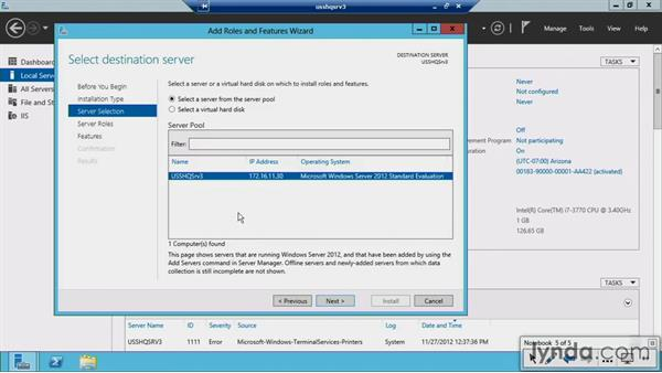 Providing DHCP IP addresses in a routed environment: Windows Server 2012 Active Directory: Network Services
