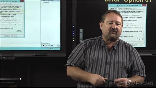 DNS integration: Windows Server 2012 Active Directory: Network Services