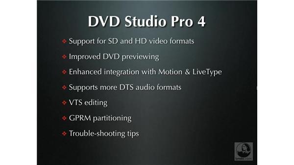 New features: DVD Studio Pro 4 + Compressor 2 New Features