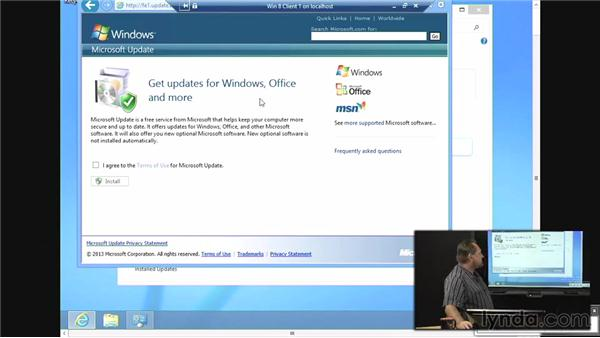 WSUS overview: Windows Server 2012 Active Directory: Network Services