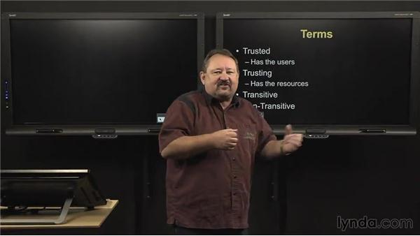 AD DS trusts overview: Windows Server 2012 Active Directory: Domain Service Design